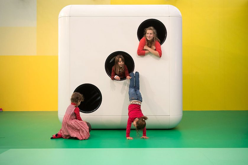 Carsten Holler Turns Frieze Booth Into Children's Playground